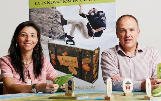 Philippe Delespesse y Lourdes Cateura de Binnakle