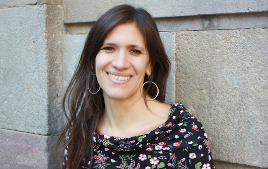 Eva Polío, codirectora de Femmefleur
